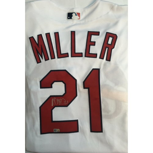 Photo of Andrew Miller Autographed Authentic Cardinals Jersey
