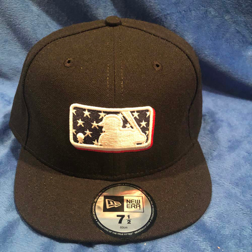 Photo of UMPS CARE AUCTION: MLB Specialty Stars Umpire Plate Cap, Size 7 1/2
