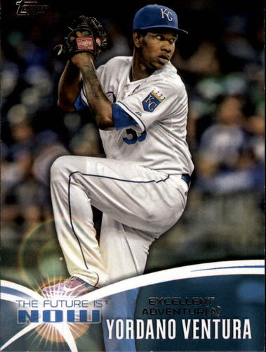 Photo of 2014 Topps The Future is Now #FNYV2 Yordano Ventura UPD