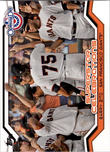 Photo of 2014 Topps Opening Day Superstar Celebrations #SC7 Barry Zito