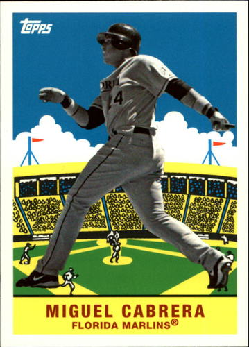 Photo of 2007 Topps Flashback Fridays #FF12 Miguel Cabrera