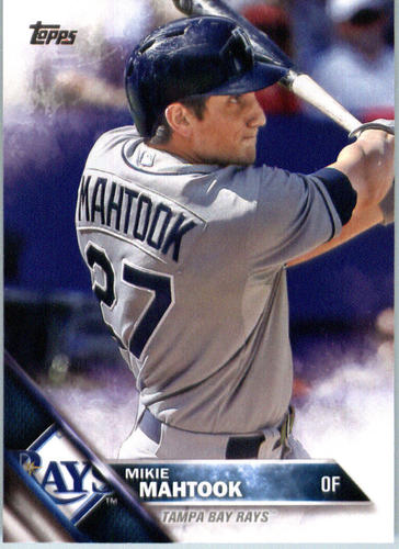 Photo of 2016 Topps #664 Mikie Mahtook