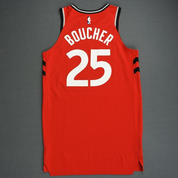 newest 2c401 b14b1 Chris Boucher - Toronto Raptors - 2018-19 Season - Canada ...