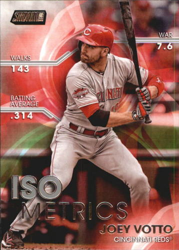 Photo of 2016 Stadium Club ISOmetrics #I18 Joey Votto