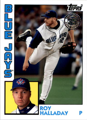 Photo of 2019 Topps Update '84 Topps #8420 Roy Halladay