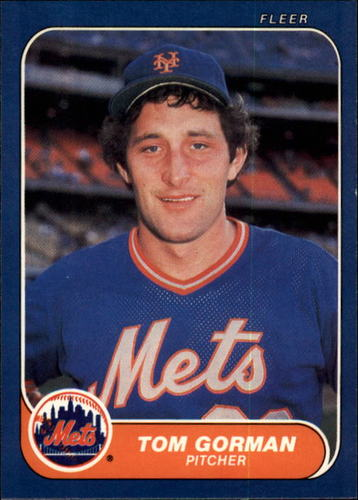 Photo of 1986 Fleer #82 Tom Gorman