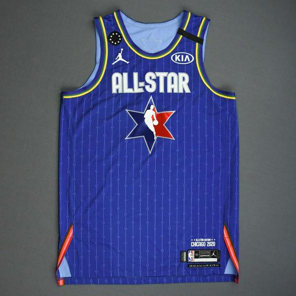 Image of Luka Doncic - 2020 NBA All-Star - Game-Worn Jersey Charity Auction - Team LeBron - 1st and 2nd Quarter