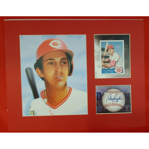 Photo of Matted Dave Concepcion - 11x14