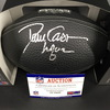 HOF - Raiders Dave Casper Signed NFL Auction Exclusive Commemorative Hall of Fame Football W/ 100 Seasons Logo