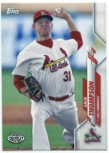 Photo of 2020 Topps Pro Debut #PD33 Zack Thompson