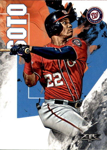 Photo of 2019 Topps Fire #150 Juan Soto