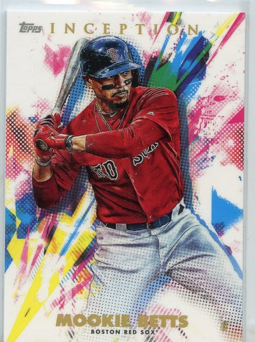 Photo of 2020 Topps Inception #97 Mookie Betts