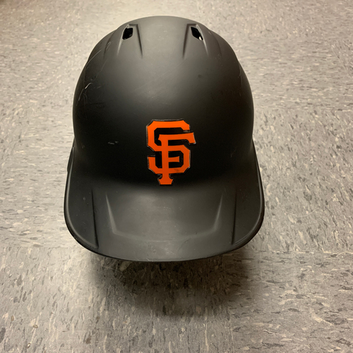 Photo of 2020 Game Used Batting Helmet - #9 Brandon Belt - Authenticated for  5 Games and 3 HOMERUNS - Left Handed Batting Helmet - Size 7 1/4