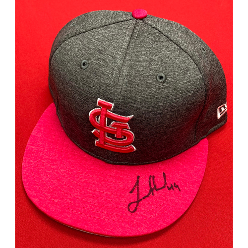 Photo of Jordan Hicks Autographed Team Issued Mother's Day Cap (Size 7 5/8)