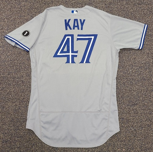 Photo of Authenticated Team Issued Jersey: #47 Anthony Kay (2020 Season). Set 2. Size 46.