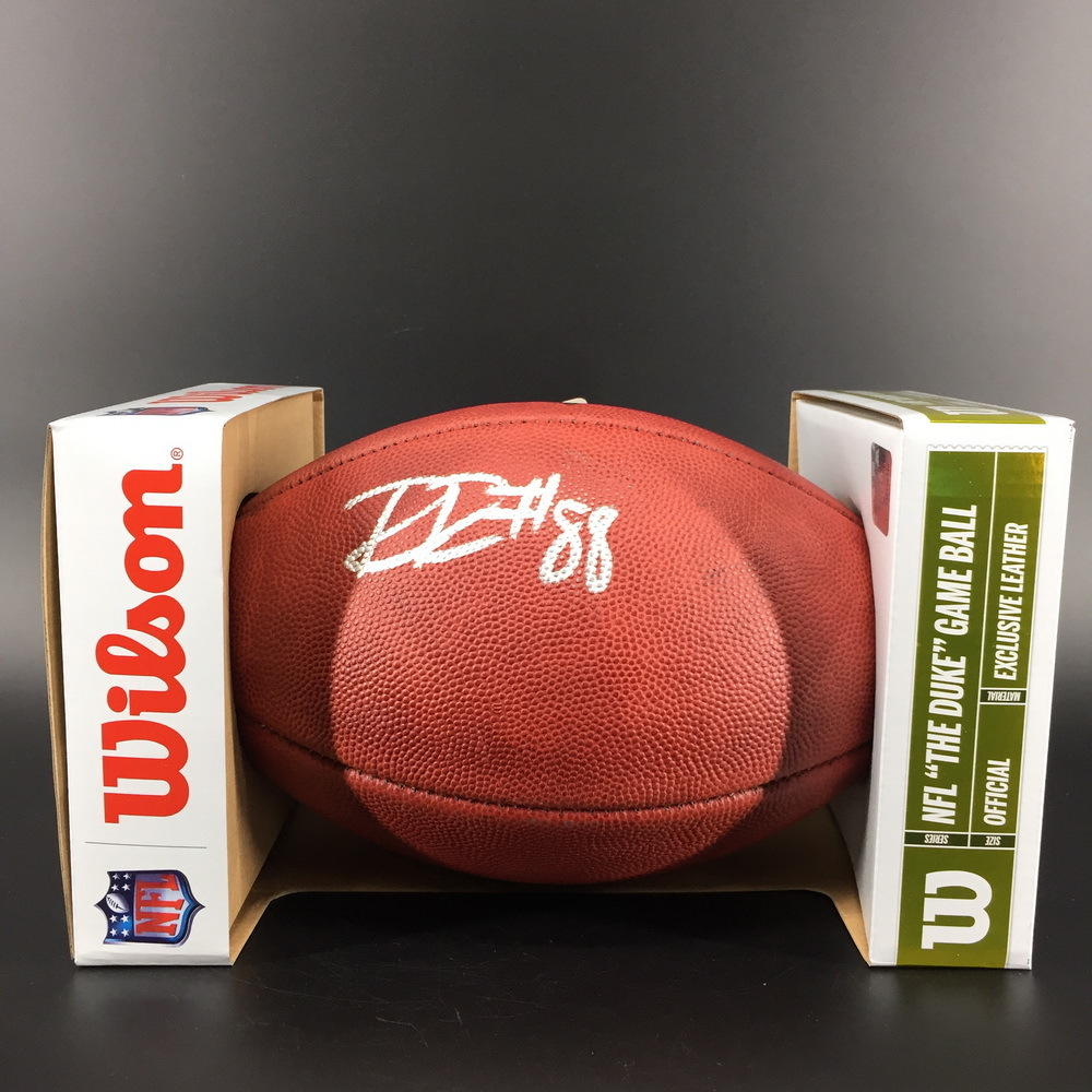 NFL - Bears Riley Ridley Signed Authentic Football