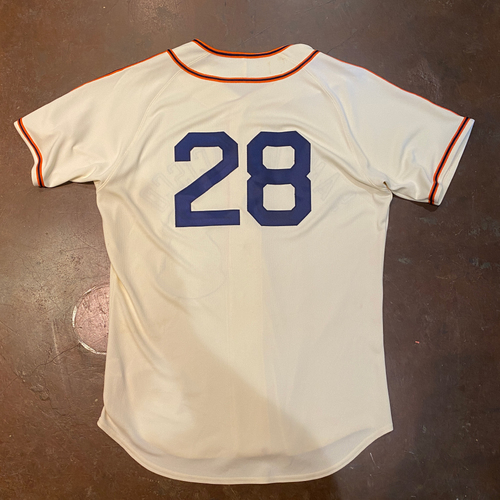 Photo of 2021 Game Used San Francisco Sea Lions Negro League Throwback Uniform - #28 Buster Posey - Size 46