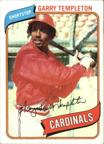 Photo of 1980 Topps #587 Garry Templeton