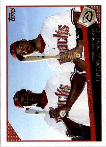 Photo of 2009 Topps #628 Justin Upton/Chris Young