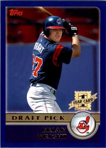 Photo of 2003 Topps #664 Brian Wright DP RC