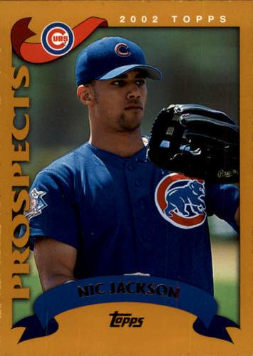 Photo of 2002 Topps #324 Nic Jackson PROS RC