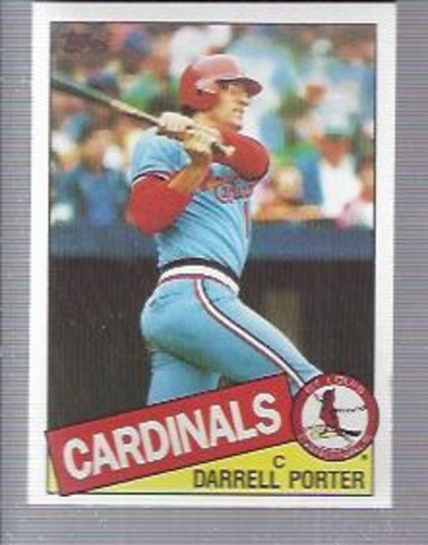 Photo of 1985 Topps #525 Darrell Porter