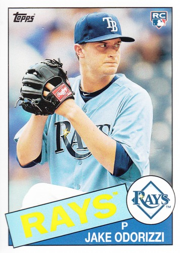 Photo of 2013 Topps Archives #143 Jake Odorizzi RC