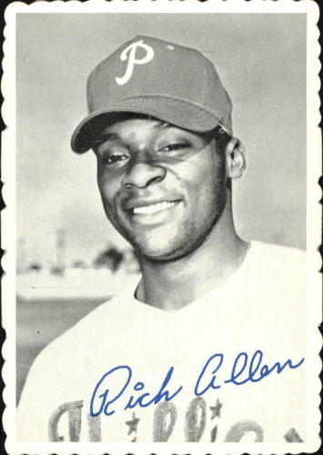 Photo of 1969 Topps Deckle Edge #26 Richie Allen