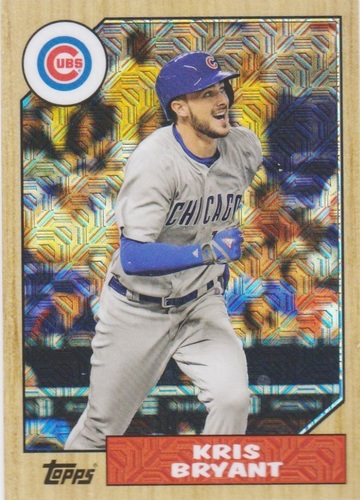 Photo of 2017 Topps '87 Topps Silver Pack Chrome #87KB Kris Bryant