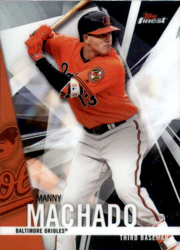 Photo of 2017 Finest #8 Manny Machado