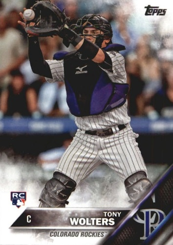 Photo of 2016 Topps Update #US249 Tony Wolters Rookie Card -- Rockies post-season