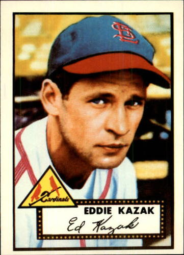 Photo of 1983 Topps 1952 Reprint #165 Eddie Kazak