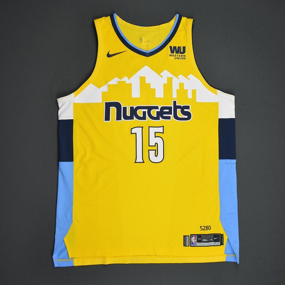 new products 33c1e ac065 Nikola Jokic - Denver Nuggets - Statement Game-Worn Jersey ...