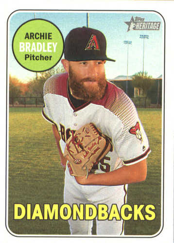 Photo of 2018 Topps Heritage #178 Archie Bradley