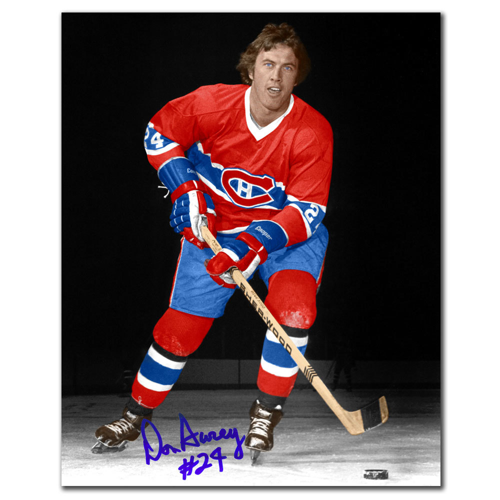 Don Awrey Montreal Canadiens Autographed 8x10