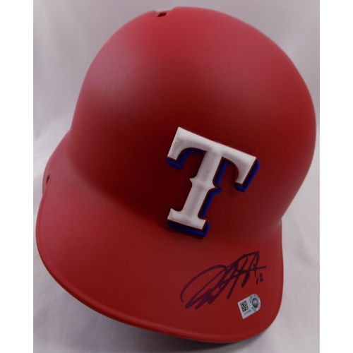 Photo of Autographed Helmet - Rougned Odor
