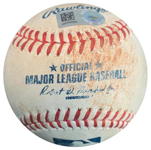 Photo of Game-Used Baseball from Pirates vs. Dodgers on 6/25/16 - Howie Kendrick Double
