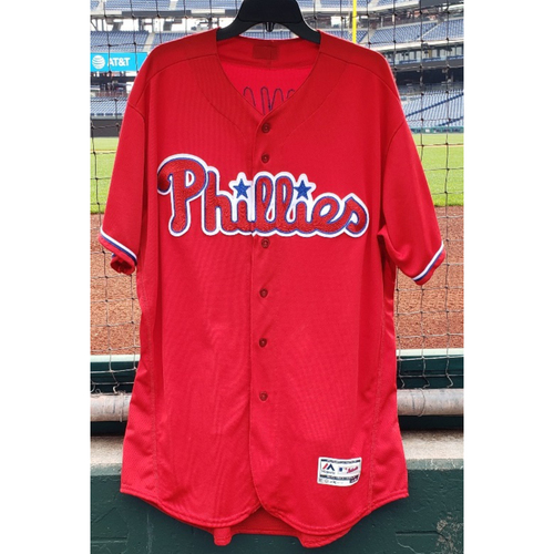 online retailer 322fe 4b007 Phillies Auctions | Ryan Howard 2016 Game-Used Red Alternate ...