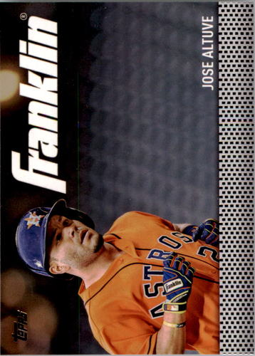 Photo of 2016 Topps Update Team Franklin #TF6 Jose Altuve