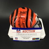 HOF - Bengals Anthony Mu�oz Signed Mini Helmet
