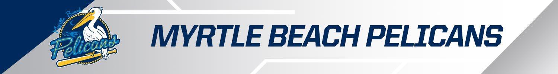 Myrtle Beach Pelicans team banner