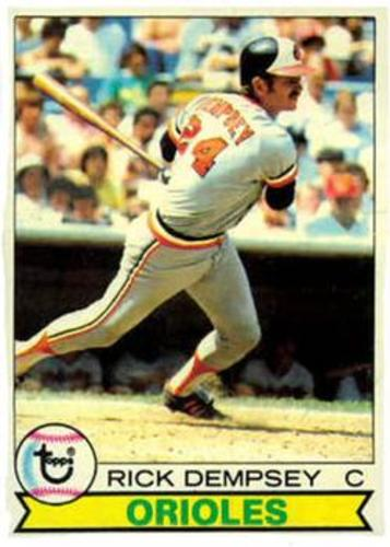 Photo of 1979 Topps #593 Rick Dempsey
