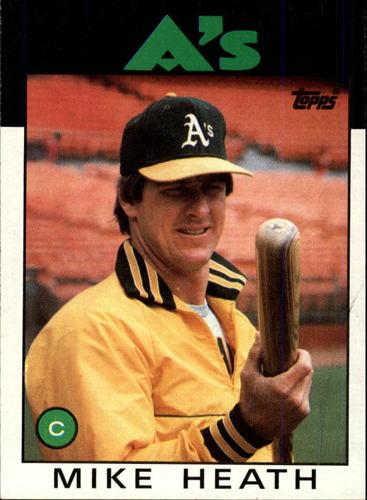 Photo of 1986 Topps #148 Mike Heath