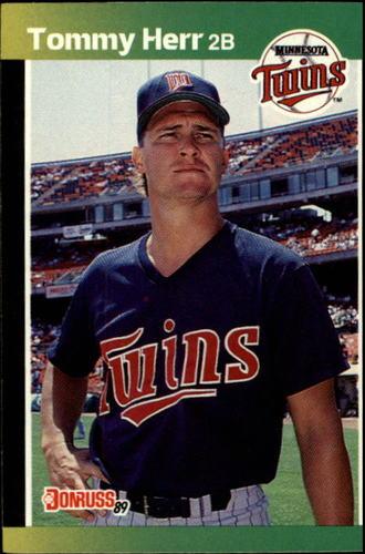 Photo of 1989 Donruss #301 Tommy Herr