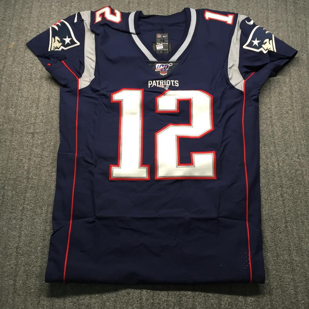 NFL Auction | Super Bowl 39 (2004 Patriots v Eagles) Game Used ...