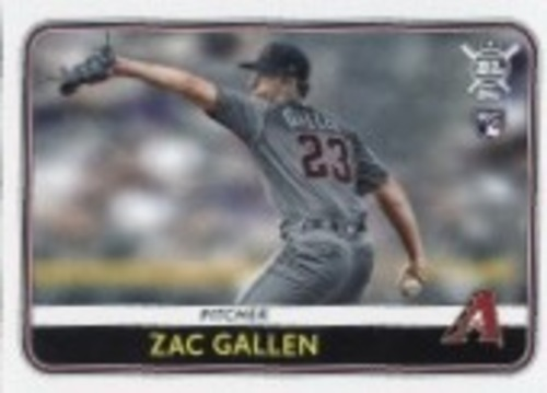 Photo of 2020 Topps Big League #229 Zac Gallen RC
