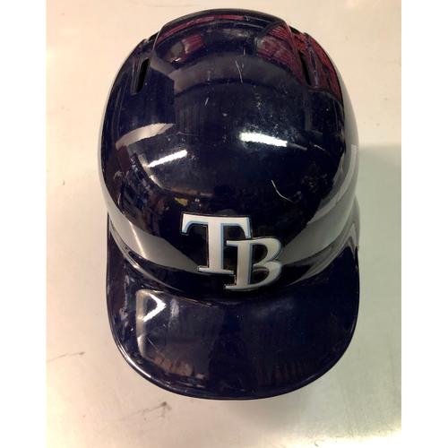 Photo of Team Issued Postseason Helmet (Left Flap): Johnny Davis