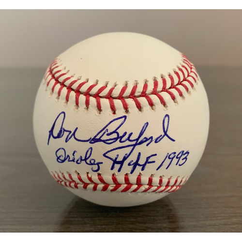 Photo of Donald Buford Autographed Baseball - NOT MLB Authenticated - Certificate of Authenticity Included
