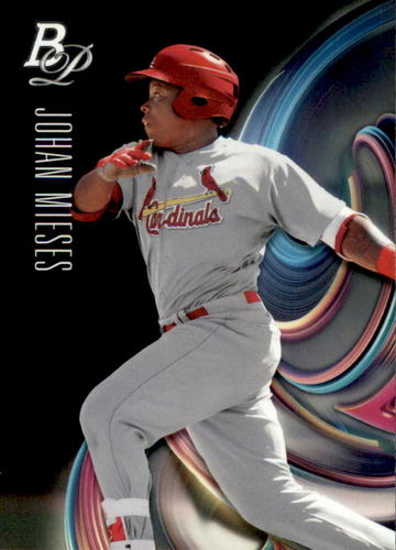 Photo of 2018 Bowman Platinum Top Prospects #TOP54 Johan Mieses