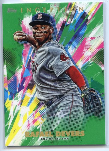Photo of 2020 Topps Inception Green #30 Rafael Devers